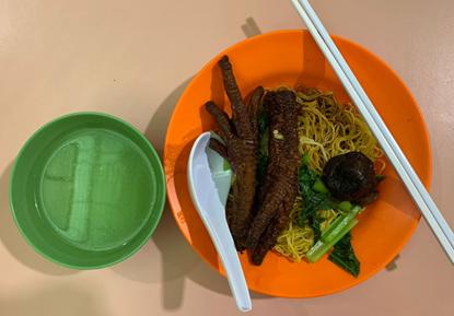 Chicken Feet Noodles